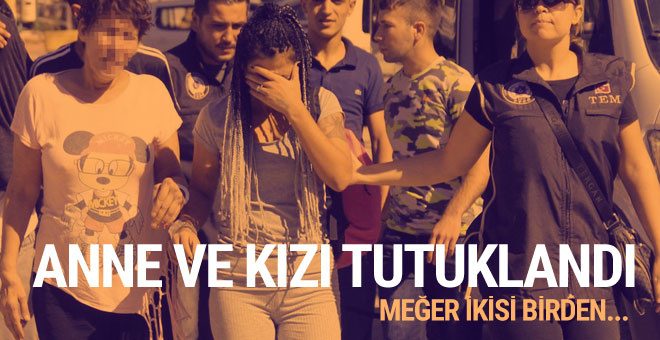 Anne ve kızı PKK'dan tutuklandı!