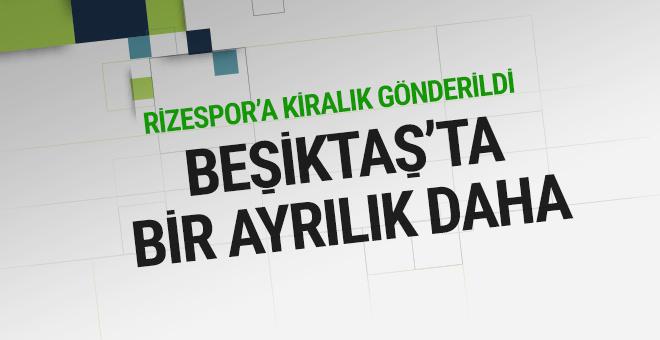 Beşiktaşlı futbolcu Çaykur Rizespor'da