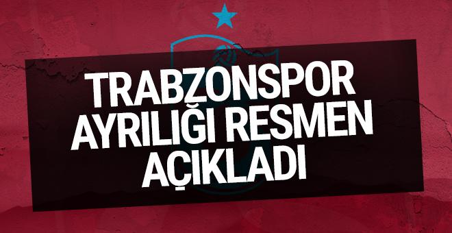 Trabzonspor ile yollarını ayırdı