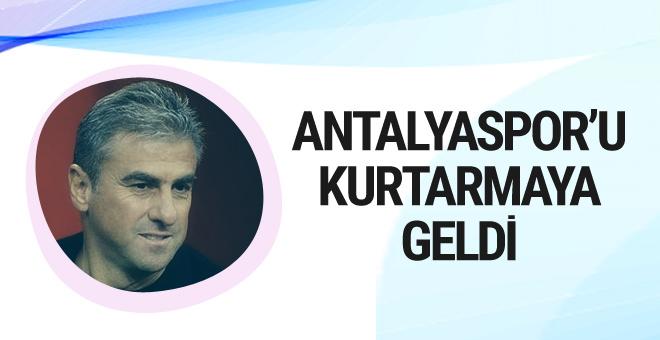 Antalyaspor Hamza Hamzaoğlu ile anlaştı