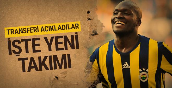 Bursaspor Moussa Sow'u resmen açıkladı!