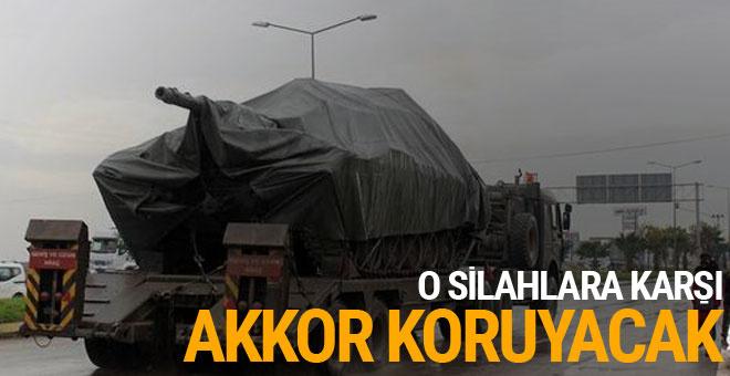 Afrin'de TSK'yı 'Akkor' koruyacak