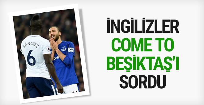 Cenk Tosun Everton'da ilk kez basın karşısına çıktı!