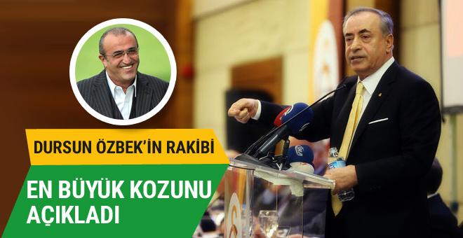 Galatasaray'da başkan adayı Abdurrahim Albayrak'ı getiriyor!