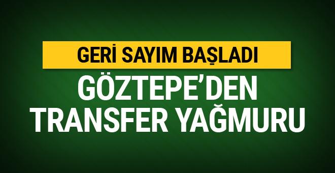 Göztepe'de transfer için geri sayım başladı