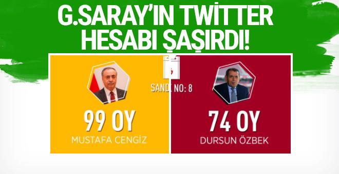 Galatasaray Twitter hesabı şaşırdı!