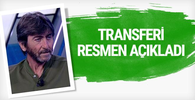 Rıdvan Dilmen transferi açıkladı