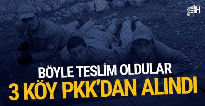 PKK'dan ilk köy alındı! PKK/PYD'liler kaçıyor...