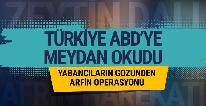 'Türkiye ABD'ye meydan okudu' yabancı basın böyle gördü