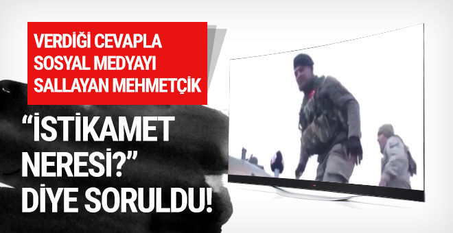 Verdiği cevapla sosyal medyayı sallayan Mehmetçik