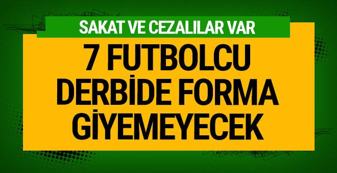 Trabzonspor ve F.Bahçe'de sakat futbolcular