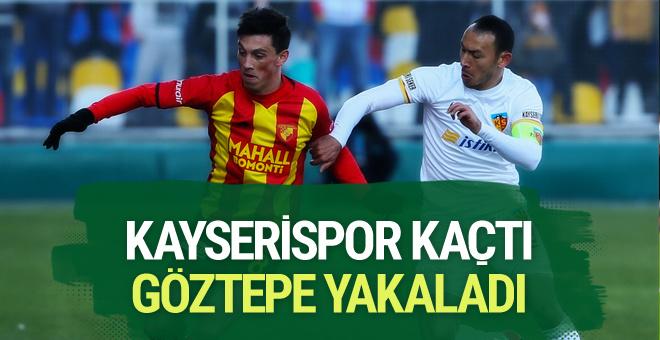 Göztepe Kayserispor maçı özeti ve golleri