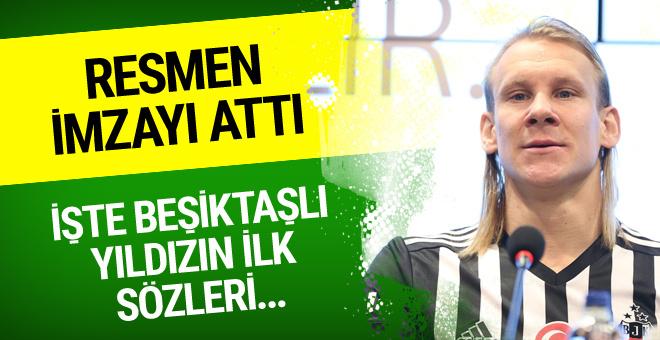 Beşiktaş Vida'yı KAP'a bildirdi! İşte ilk sözleri...