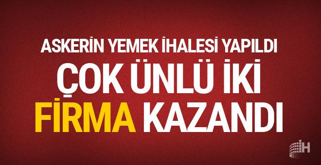 Askerin yemeğini Ülker sütünü Pınar Süt verecek...