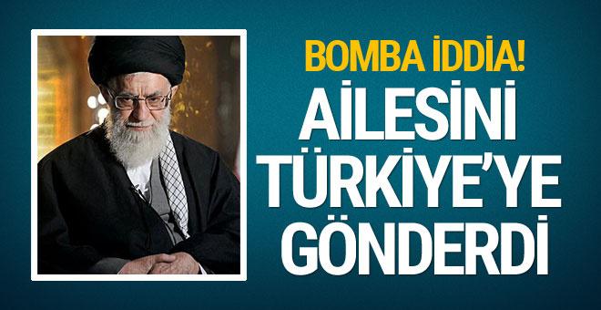 Bomba iddia! Hameney ailesini Türkiye'ye gönderdi...