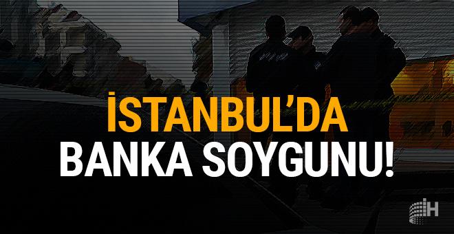 İstanbul'da silahlı banka soygunu!