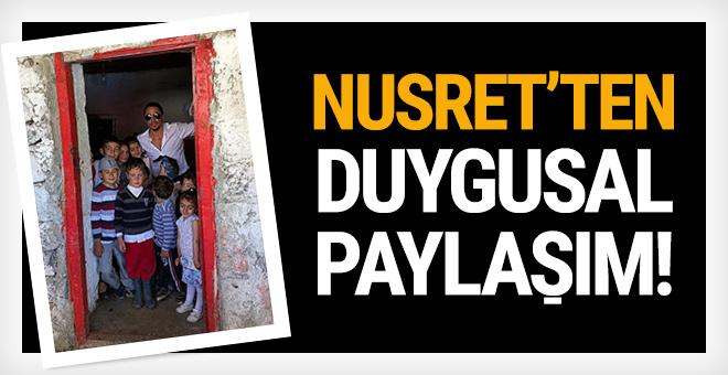 Nusret'ten duygusal paylaşım: 'Burası benim doğduğum ev'