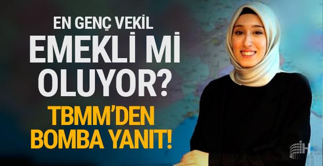 AK Partili Rumeysa Kadak emekli mi oluyor?