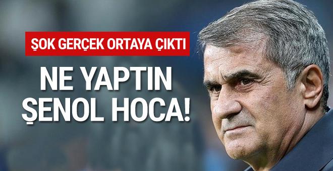 Şenol Güneş'ten Beşiktaş'a büyük şok! Kulübün başına dert açtı