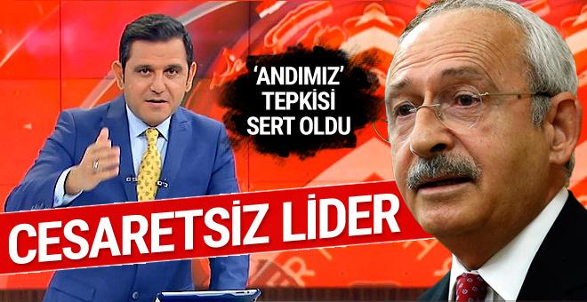 Fatih Portakal'dan Kılıçdaroğlu'na 'andımız' tepkisi: Cesaretsiz lider