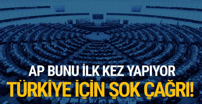 Avrupa Parlamentosu'ndan skandal Türkiye raporu!