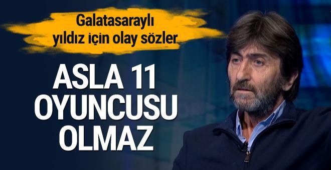 Rıdvan Dilmen: Asla 11 oyuncusu olmaz