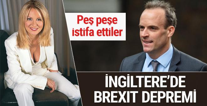İngiltere Hükümeti Brexit istifalarıyla sarsılıyor