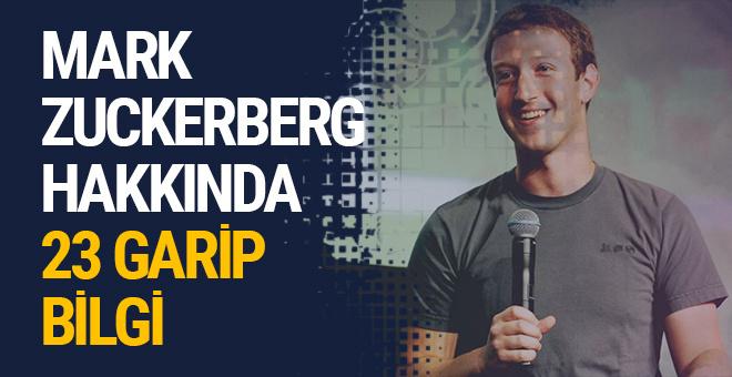 Mark Zuckerberg hakkında 23 garip bilgi