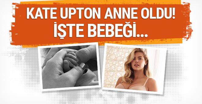 Kate Upton anne oldu: Kızının fotoğrafını paylaştı!