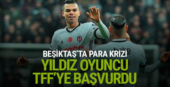 Beşiktaş'ta Pepe, alacakları için TFF'ye başvurdu