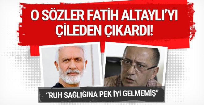 Fatih Altaylı Altan Erkekli'ye laf sokan Talat Bulut'u Yasak Elma'dan vurdu