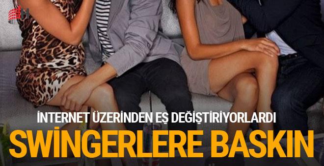 Antalya'da 'swinger' operasyonu internet üzerinden...