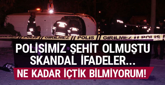 Konya'da polisin şehit olduğu kazada skandal ifade