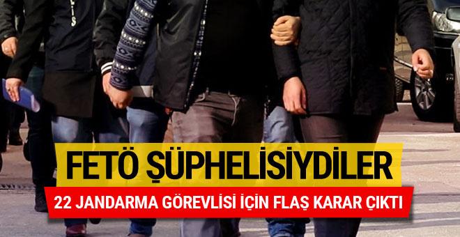 FETÖ'nün TSK yapılanmasında 22 şüpheli asker tutuklandı