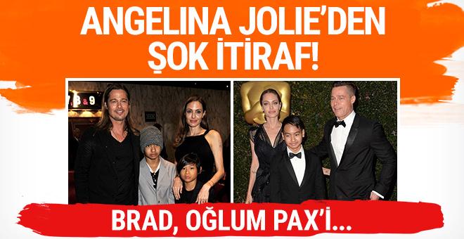 Angelina Jolie: 'Brad oğlum Pax'i hiçbir zaman istemedi'