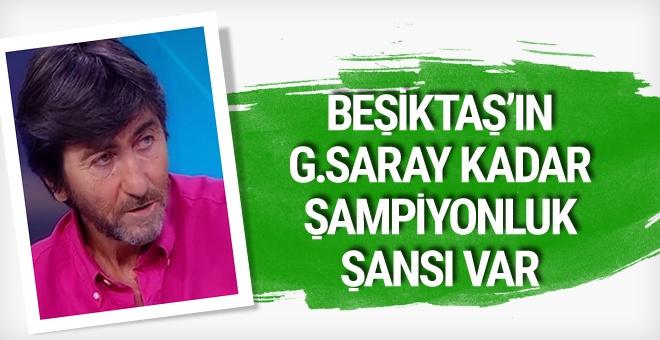 Rıdvan Dilmen'den Beşiktaş için şampiyonluk sözleri!