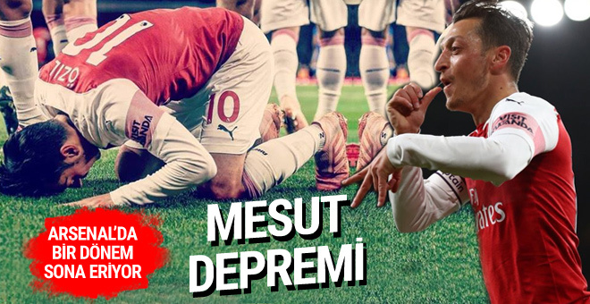 Arsenal'da deprem! Mesut Özil veda ediyor