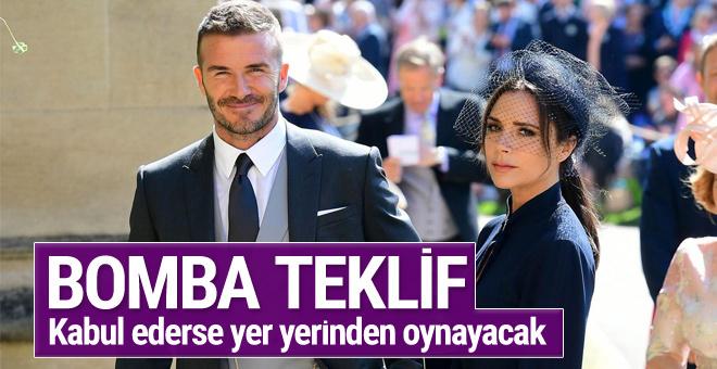 David Beckham'a bomba teklif! Gerçekleşirse yer yerinden oynar