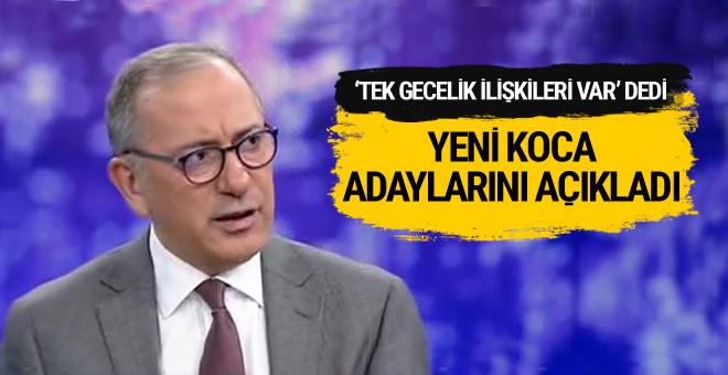 Fatih Altaylı YPG'nin yeni koca adaylarını açıkladı
