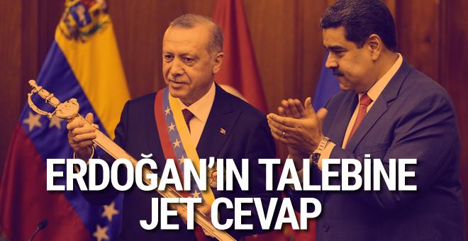 Cumhurbaşkanı Erdoğan'dan Venezuela'da önemli açıklamalar