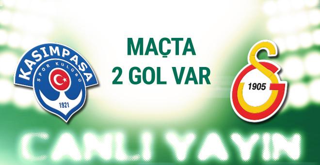 Kasımpaşa Galatasaray maçı CANLI YAYIN