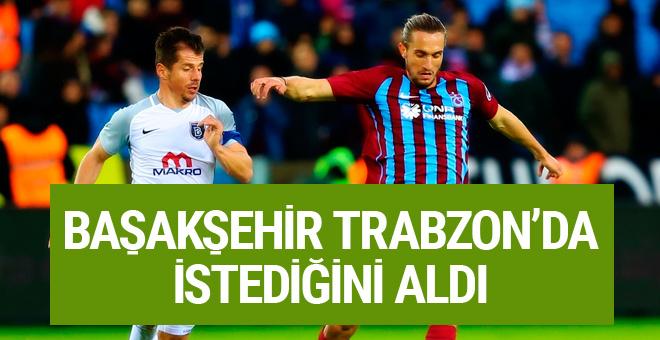 Trabzonspor - Başakşehir maçı sonucu ve geniş özeti