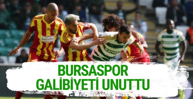 Bursaspor - Yeni Malatyaspor maçı sonucu