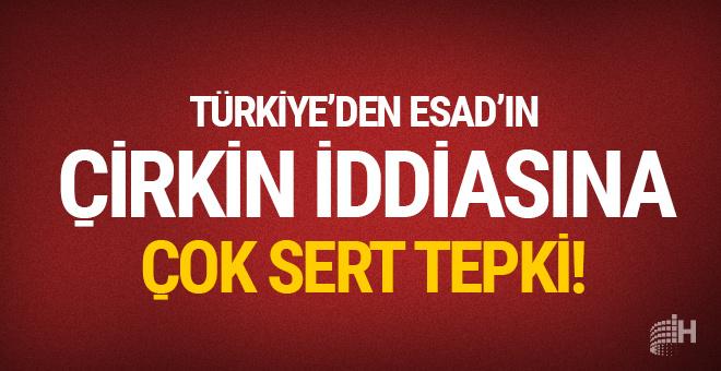 Türkiye'den çirkin iddiaya sert cevap!