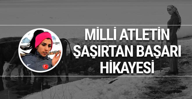 Milli atlet Gülcan Palavan'ın şaşırtan başarı hikayesi