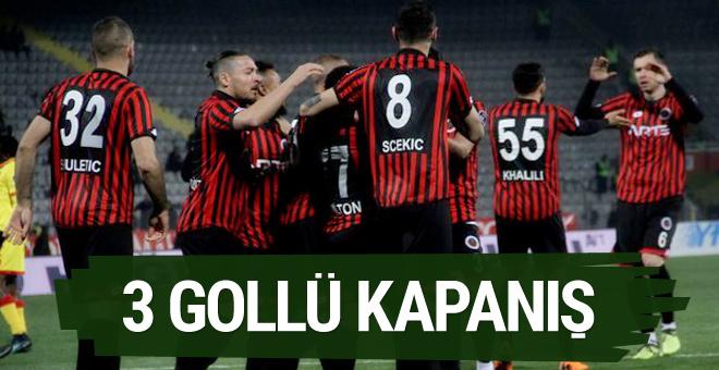Gençlerbirliği Göztepe maçının özeti ve golleri
