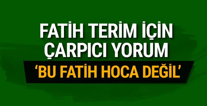 Hıncal Uluç'tan Fatih Terim'e flaş sözler