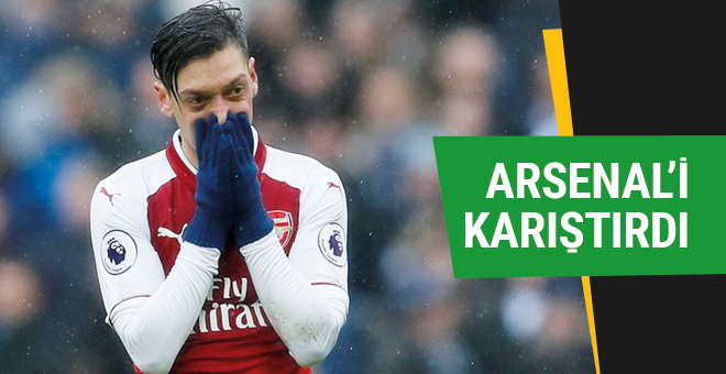Arsenal taraftarı Mesut Özil'i yalancılıkla suçluyor!