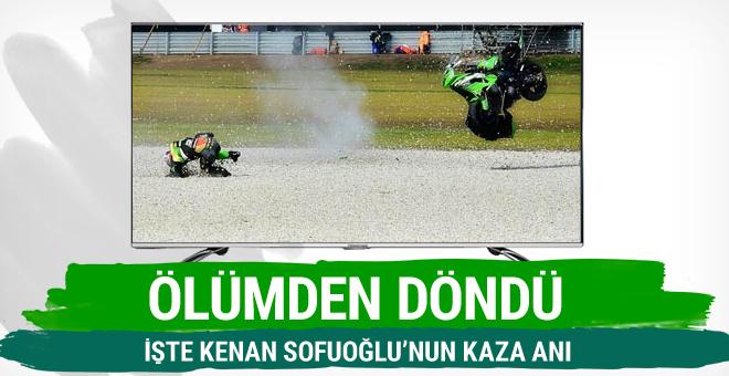 Kenan Sofuoğlu feci şekilde kaza yaptı