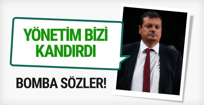 Ergin Ataman'dan Galatasaray yönetimine flaş sözler